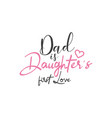 dad quote lettering typography vector image