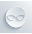 modern glasses light icon vector image