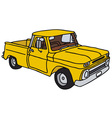 Old yellow pick-up
