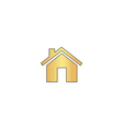 Real Estate computer symbol vector image