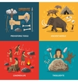 Stone Age Flat vector image vector image