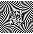 ticket to the moon hand drawn lettering on the vector image