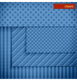Fabric patterns for website background design vector image
