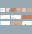 abstract card background for paper stationery wrap vector image
