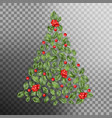 christmas tree concept eps 10 vector image