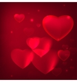 romantic background purple vector image