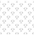 winner cup pattern seamless vector image vector image