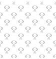 winner cup pattern seamless vector image