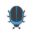 daft punk bug helmet creative logo icon vector image vector image