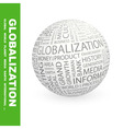 GLOBALIZATION vector image vector image