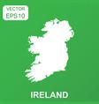 ireland map icon business concept ireland vector image vector image