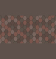 old roof tiles vector image vector image