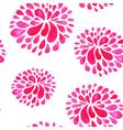 pink watercolor pattern vector image vector image
