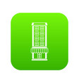 shop icon digital green vector image