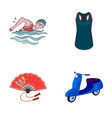 sport textiles industrial and other web icon in vector image vector image