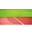 Track lanes vector image vector image