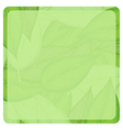 A green paper vector image vector image