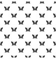 butterfly with antennae icon simple style vector image vector image