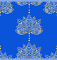 decorative ornament in ethnic oriental style vector image vector image