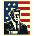 Donald Trump vector image vector image