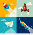 Growth and Development and Launch a Innovation vector image vector image