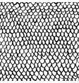 netting seamless pattern vector image vector image