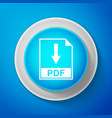 pdf file document icon download pdf button sign vector image vector image