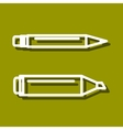 Permanent marker and ball point pen vector image vector image