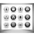 Set of business buttons vector image