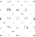 stylish icons pattern seamless white background vector image vector image