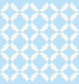 subtle seamless mesh in white and light blue vector image vector image