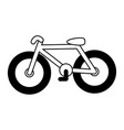bicycle transport icon vector image