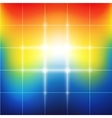 Blurred vibrant rainbow colors abstract background vector image vector image