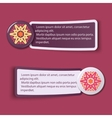 Colorful Web Stickers Tags and Labels vector image vector image