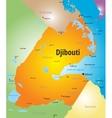 Djibouti vector image vector image
