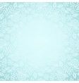 lace frame on blue background vector image