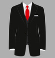 Man suit vector image vector image
