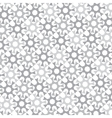 monochrome background of repeated elements vector image