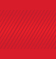 red background with stripes vector image vector image