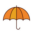 umbrella accessory protection weather line vector image vector image