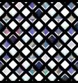 white diamonds seamless pattern vector image vector image