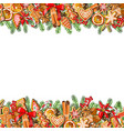 festive template isolated on white background vector image vector image