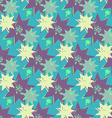 Grunge colorful geometric seamless pattern vector image vector image
