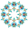 Ottoman motifs design series with twenty two vector image vector image