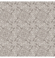 Seamless pattern of lines drawn by brush and ink vector image vector image