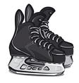 hockey skates vector image