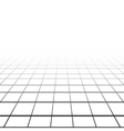 Abstract background with a perspective grid vector image vector image