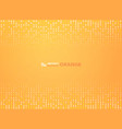 abstract gradient orange color with circles vector image vector image