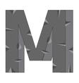 Alphabet english vector image
