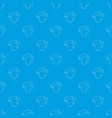 beer pattern seamless blue vector image